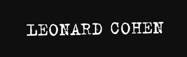Leonard Cohen Concerts Tour Tickets