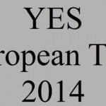 YES – European Tour 2014