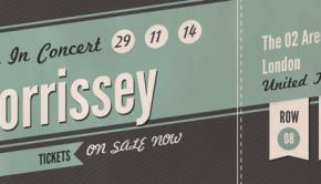 Morrissey Concert Tickets London